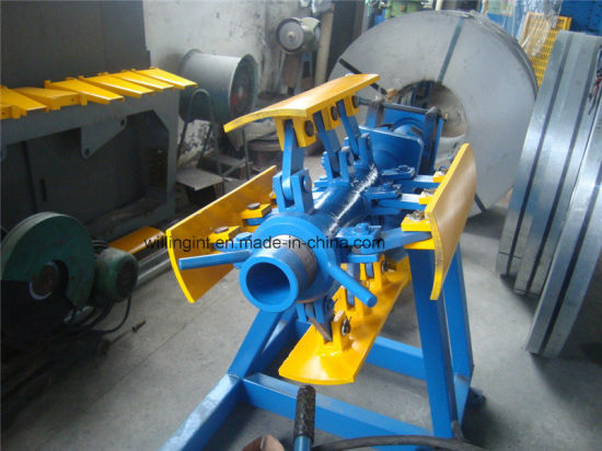 3 Tons Manual Simple Uncoiler for Metal Steel Coils Decoiler pictures & photos