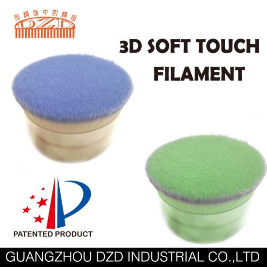 Two Colors 3dsoft Touch Filament for Make up Brush pictures & photos