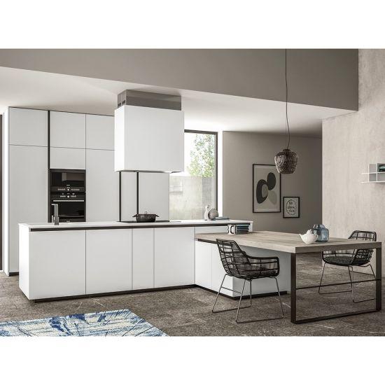 All In One Kitchenette Units.German Standard Island All In One Matt White Mdf Prefabricated Kitchen Unit