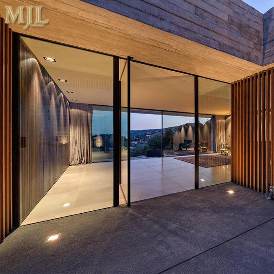 Aluminium Center Pivot Casement Door For Commercial