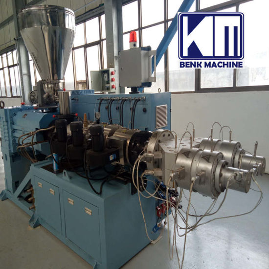 Plastic PVC WPC Wall Panel Foam Board Window Profile PE PP PPR Water Irrigation Electric Corrugated Pipe Cable Tube Extruding Extruder Extrusion Making Machine