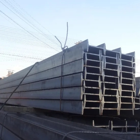 Hot Rolled ASTM A36 Ipn 400 Steel I-Beam