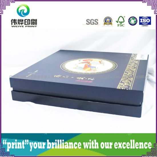 High-End Custom Printing Paper Packaging Box Cloth Gift Box pictures & photos