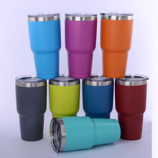 7253f87d69f Hot Sale Rambler Tumbler Stainless Steel 20oz / 30 Oz/12oz Coffee Mug Yeti  Cups