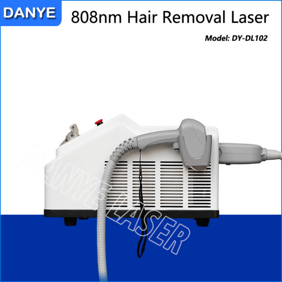 China Home Use Handy 808 Diode Laser Body Hair Removal Machine