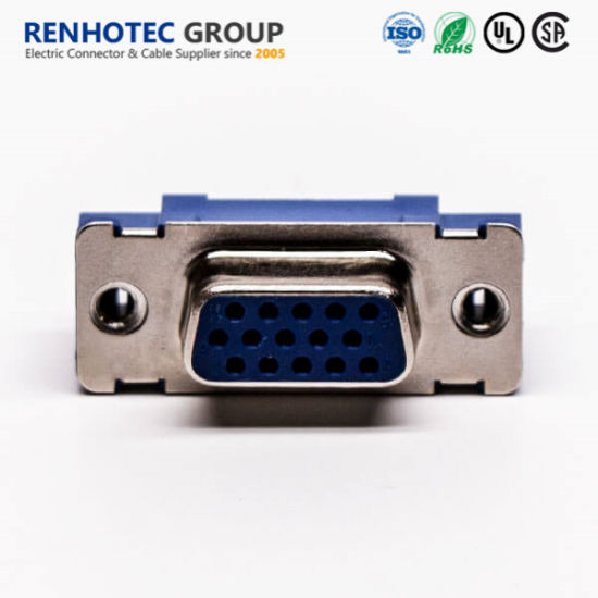VGA Female Connector for PCB Mount