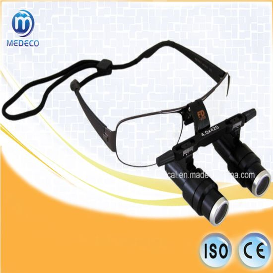 LED Headlamp Head Light Medical Loupe Fd-501K One-Way Screw Thread Loupe pictures & photos