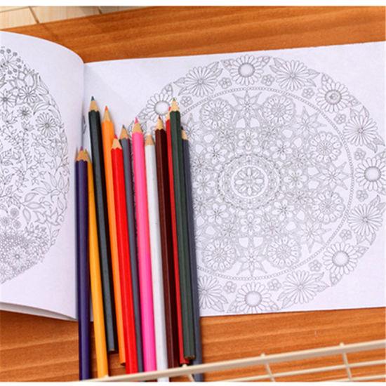 China Custom Coloring Book Printing with Colourful Pencils - China ...