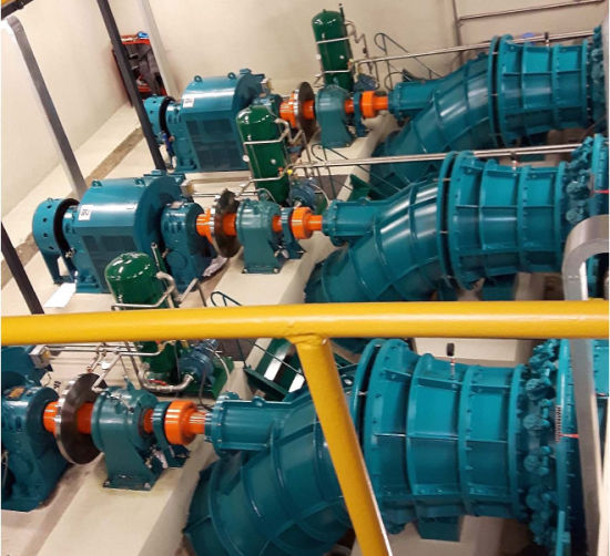 100kw~200kw S-Type Kaplan Turbine / Small Water Turbine for Sale