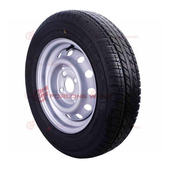 ECE&TUV Certificate 13inch Light Trailer Steel Wheel with Tyre