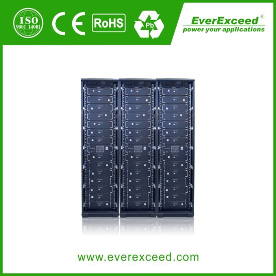 Everexceed Telecom UPS/Telecommunication Systems/ 48V100ah Lithium Iron Battery