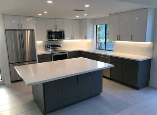 Modern Chinese Furniture Customized Products Matt Lacquer Kitchen Cabnetry  - China Furniture, Kitchen Cabinets