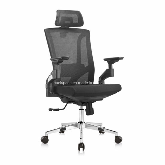 New Design Ergonomic Mesh Office 4D Armrest Adjustable Executive Chair