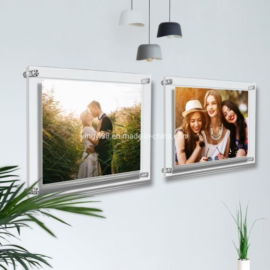 China Factory Wholesale Acrylic Picture Frames Wall China Acrylic Picture Frames Wall And Acrylic Picture Frame Price