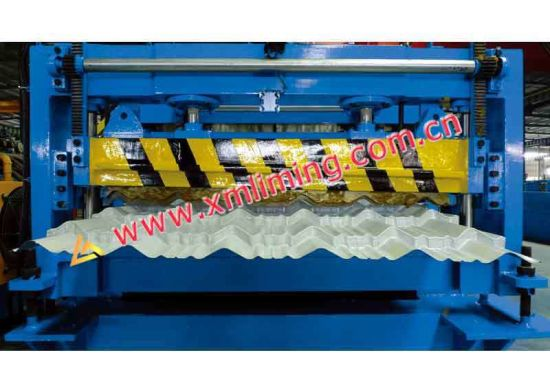 PPGI& Aluminum Plate Roof and Wall Tile Panel Sheet Cold Roll Forming Machine