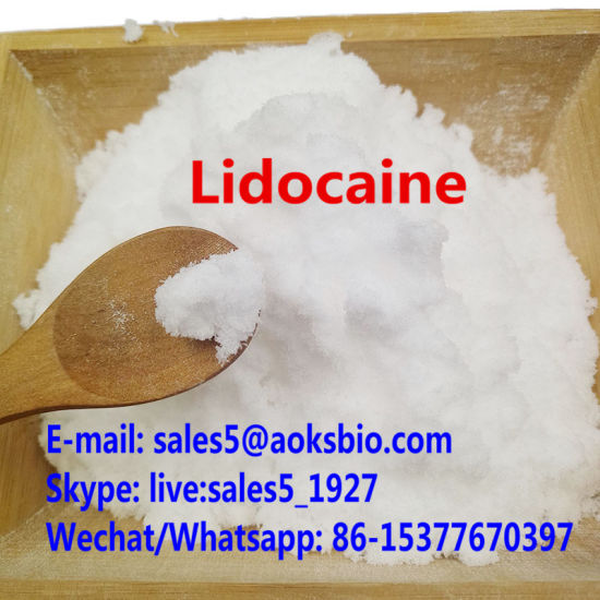 China Supplier 99.9% Lidocaine Powder CAS 137-58-6 Chemical Drugs High Purity Lidocaine