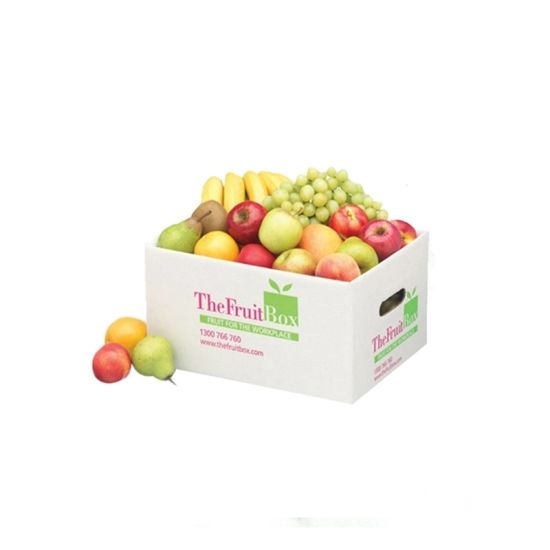 Food Quality Custom Corrugated Paper Fruit Package Carton Box pictures & photos