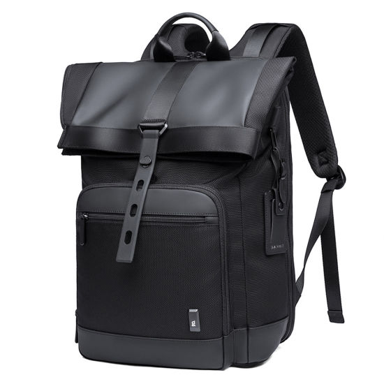 Top Quality New Style Male Double Shoulder Leisure Business Travel University Man Bag Pack Backpack (CY3302)
