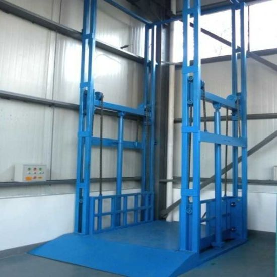 Manufacturer Guide Rail Material Lift/ Car Lift, Factory Price