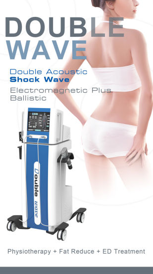 Double Machine Dual Channel Ondas De Choque Fiphysiotherapy with Cellulite Reduce