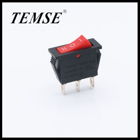 Temse on-off-on 3position 3pin Rocker Switch
