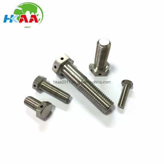 Good Quality CNC Machining Custom Hastelloy C276 2.4819 Bolts