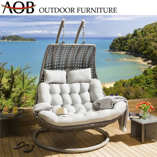 Prime Modern Outdoor Patio Garden Furniture Backyard Balcony Leisure Rope Woven Hanging Swing Chair Gmtry Best Dining Table And Chair Ideas Images Gmtryco
