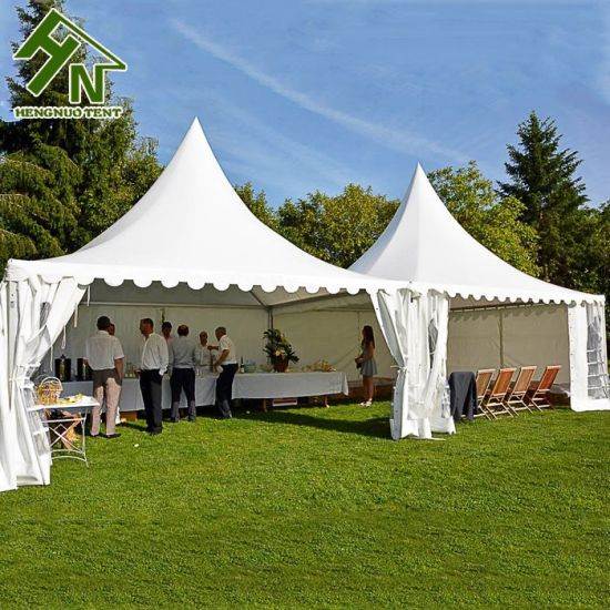 China Wind Resistant 20 Ft X 20 Ft Aluminum European Pagoda For
