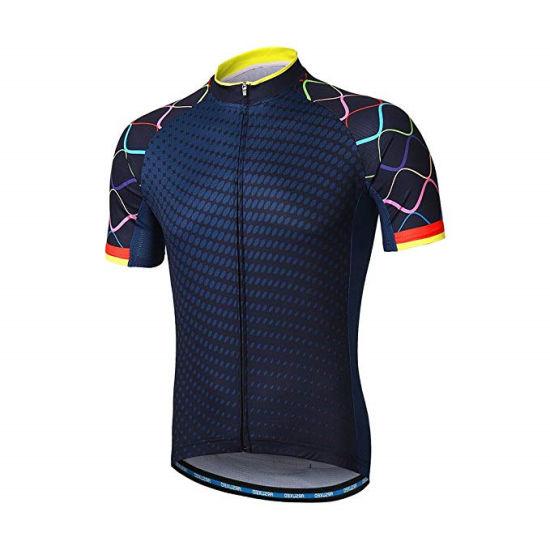 New Custom Men Cycling Short Sleeve Shirts Mountain Bike MTB Sportswear Tops Bicycle T Shirt