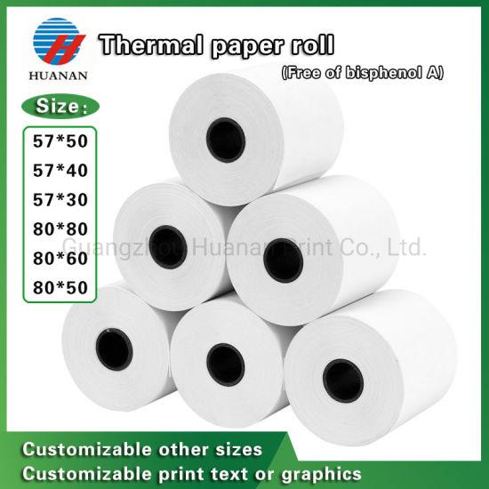 Thermal Cash Register Paper for Supermarket