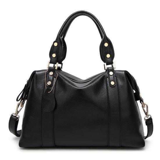 Low MOQ of 5PCS! New Wholesale Handbag Ladies Tote Bag PU Leather Handbags