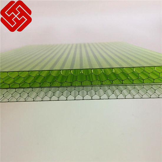 China Quanfu Ten-Year Warranty PC Honeycomb Sheet for Building Material pictures & photos