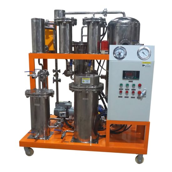 Anti-Acid Anti-Dissolution 304 Stainless Steel Phosphate Ester Fire Resistance Oil Cleaning Machine/Purifier