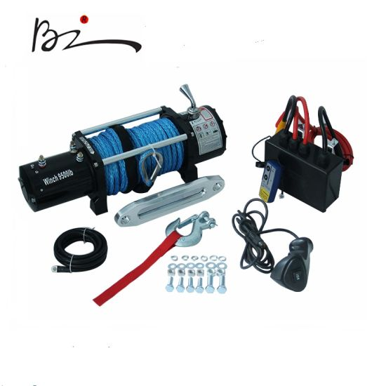 Truck Trailer Jeep 4X4 9500lbs DC 12V/24V Electric Winch