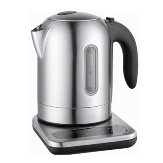 1.7 Liter 2200W Keep Warm Health Electric Kettle Stainless Steel