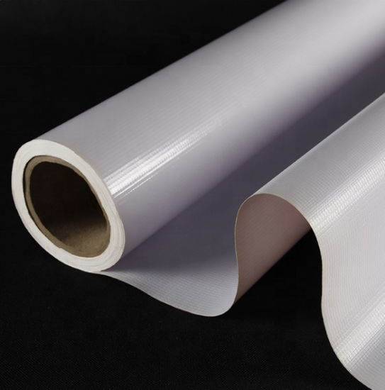 Wholesale Price Outdoor Printing Media PVC Flex Banner Rolls Size Advertising Material Flex Banner