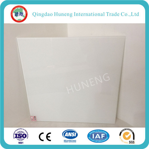 3-6mm White Color Painted/Baking Glass with Ce ISO pictures & photos