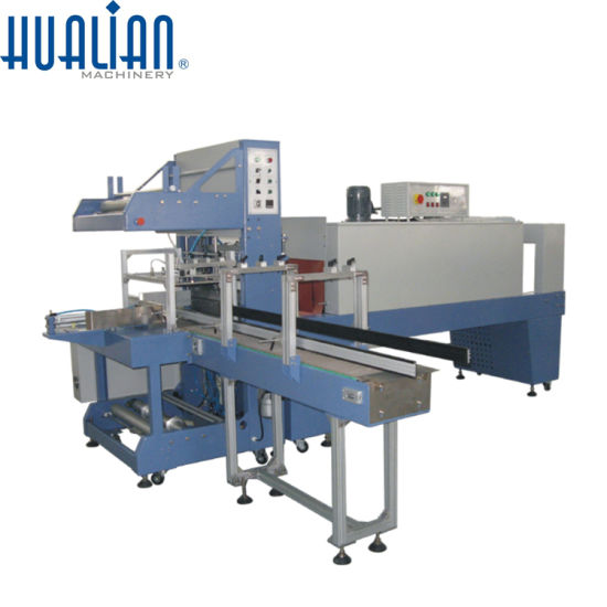 BSF-6030XI+BS-6040L Hualian Shrink Sleeve Cutting Machine pictures & photos