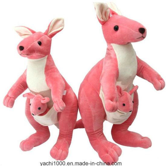 Red Kangaroo Toy Plush with Safety Certification