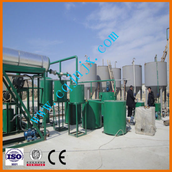 Vacuum Distillation Machine with Black Waste Engine Oil Recycle System pictures & photos