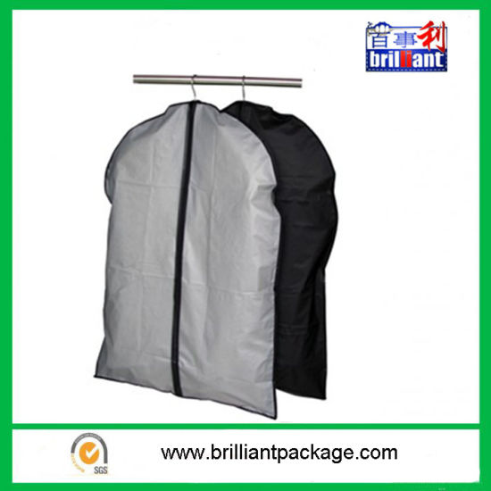 Wholesale PEVA Foldable Mens Garment Cover Bag with Promotion pictures & photos