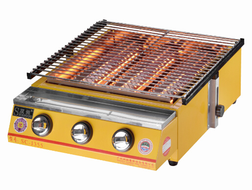 Automatic Outdoor Adjustable Professional BBQ Gas Grill for Sale pictures & photos