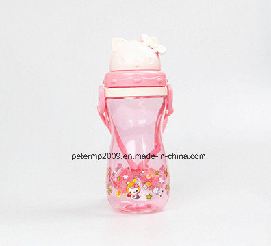 500ml Promotional BPA Free Student Drinking Bottle, Food Grade Plastic Water Cup pictures & photos
