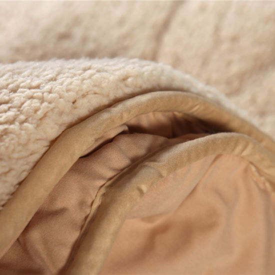 New Design Top Selling Detachable Double Layers Berber Fleece Quilt Warm Winter Quilt pictures & photos