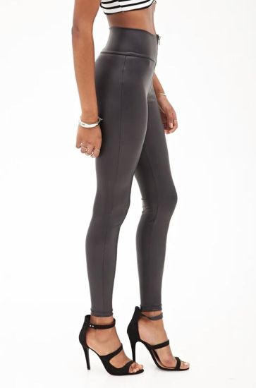 abed488a7 China New Style Slender Leather Black Sexy Women Leggings Hot Sale ...