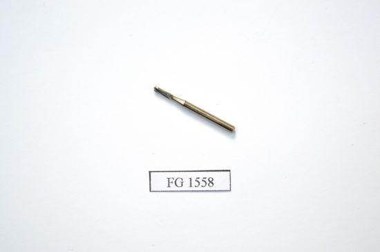 China Fg1558 Series Dental Burs-Tungsten Carbide Bur-Domed Fissure