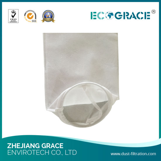 Water Filtration 25 Micron Polypropylene Felt Liquid Filter Bag (180mm X 800mm) pictures & photos