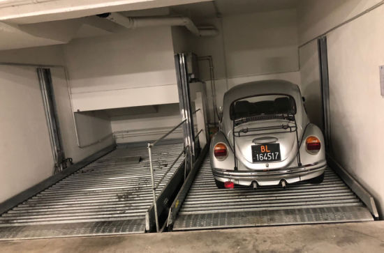 Easy Operation Self-Service Underground Auto Parking System