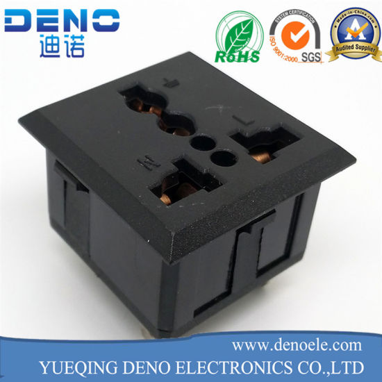 3 Pin Inlet Module Plug Fuse Switch Male Power Socket