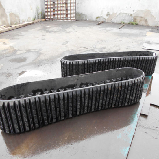 "Terex Asv RC50 RC60 PT50 PT60 257 257b Loader Rubber Track 15""*4""*42 with No Teeth pictures & photos"